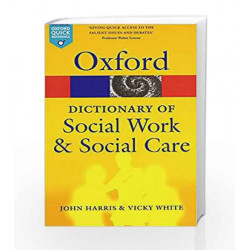 A Dictionary of Social Work and Social Care (Oxford Quick Reference) by G.K Book-9780199543052