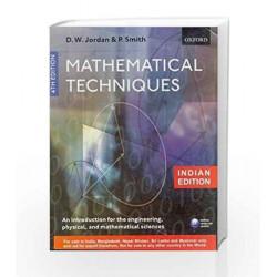 Mathematical Techniques by Jordan Book-9780199560899