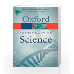 A Dictionary of Science (Oxford Quick Reference) by Elizabeth A. Martin Book-9780199561469