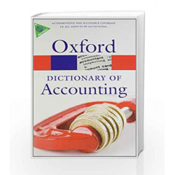 Dictionary of Accounting by Oxford University Press Book-9780199563050