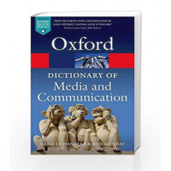 A Dictionary of Media and Communication (Oxford Quick Reference) by VED PRAKASH Book-9780199568758