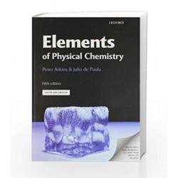 Elements of Physical Chemistry by Atkins Peter Book-9780199606672
