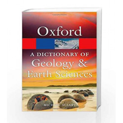 A Dictionary of Geology and Earth Sciences (Oxford Quick Reference) by Michael Allaby Book-9780199653065