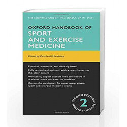Oxford Handbook of Sport and Exercise Medicine (Oxford Medical Handbooks) by Macauley Book-9780199660155