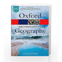 A Dictionary of Geography (Oxford Quick Reference) by G.K Book-9780199680856