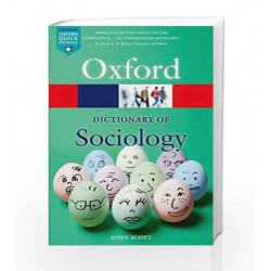 A Dictionary of Sociology (Oxford Quick Reference) by GK Book-9780199683581