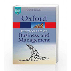 A Dictionary of Business and Management (Oxford Quick Reference) by 0 Book-9780199684984