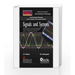 Signals and Systems: Semester III - Electronics and Communication Engineering by Katre J S Book-9780230322431
