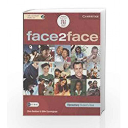 Face 2 face elementary students book with cd-rom/audio cd by.