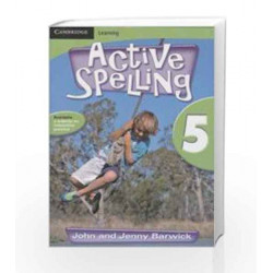 Active Spelling 5 by Barwick Book-9780521137874