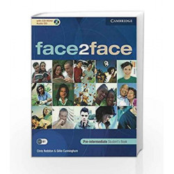 Face2Face Pre - Intermediate Students Book with CD-ROM/Audio CD by Redston Book-9780521175456