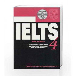 Camb Ielts 4: with Answers with 2 Audio CDs by UCLES Book-9780521678636