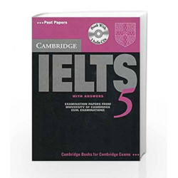 Camb English Ielts 5: with Answer Book with 2Acds (South Asian Ed) by Jakeman Book-9780521700511