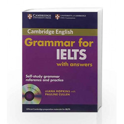 Cambridge Grammar for Ielts with Answers and Audio CD by Hopkins Book-9780521706117
