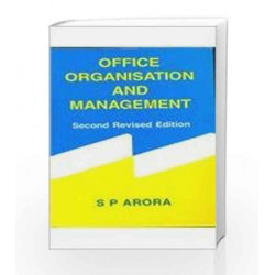 Office Organisation and Management by J.S. Chandan Book-9780706999280