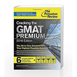 Cracking The GMAT Premium Edition (Graduate School Test Preparation) by JACK MYRICK Book-9780804126014