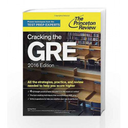 Cracking The GRE 2016 (Graduate School Test Preparation) by JAICO Book-9780804126045