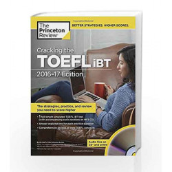 Cracking the TOEFL iBT (with Audio CD) (College Test Preparation) by Princeton Review Book-9781101882481