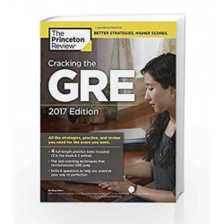 Cracking the GRE with 4 Practice Tests (Graduate School Test Preparation) by JAGMOHAN BHANVER Book-9781101919712
