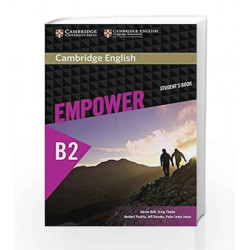 Cambridge English Empower Upper Intermediate Student\'s Book by SINGH Book-9781107468726