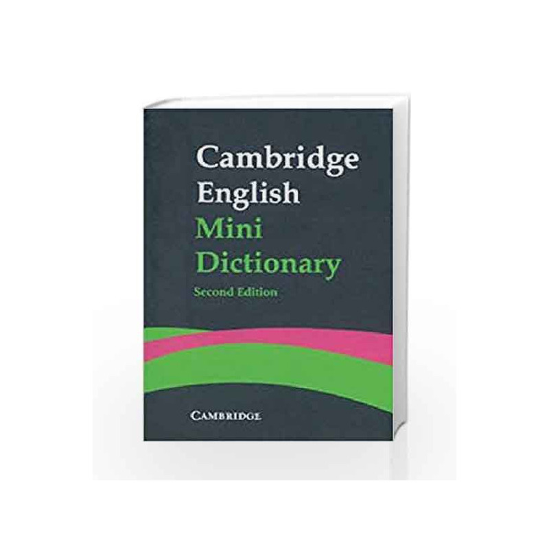 Cambridge English Mini Dictionary by Cup-Buy Online Cambridge English Mini  Dictionary Book at Best Price in India:Madrasshoppe com