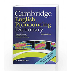 Cambridge English Pronouncing Dictionary (Book Only) by Jones Book-9781107685888