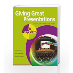 Giving Great Presentations by In Easy Steps Book-9781259001963