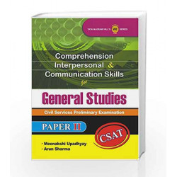 Comprehension -  Interpersonal and Communication Skills for Gs Paper II by ROBERT NOYES Book-9781259003653