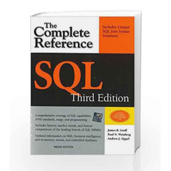 SQL The Complete Reference, 3rd Edition by James Groff Book-9781259003882
