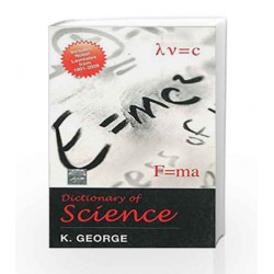 Dictionary of Science by K George Book-9781259005633