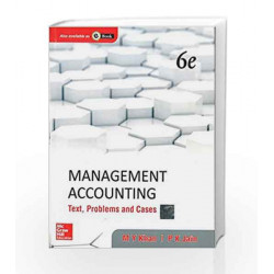 Management Accounting: Text, Problems and Cases by SANGETA PANCHAL /ALKA Book-9781259026683