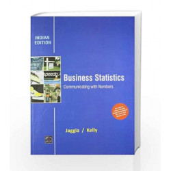 Business Statistics: Communicating with Numbers by Jaggia Book-9781259097386