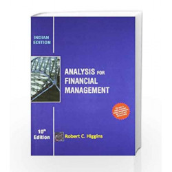 Analysis for Financial Management by Robert C. Higgins Book-9781259098352