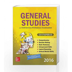 General Studies Paper 2 (2016) by MHE Book-9781259098758