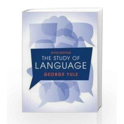 The Study of Language South Asia Edition by George Yule Book-9781316606377