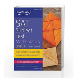 SAT Subject Test Mathematics Level 2 (Kaplan Test Prep) by Kaplan Book-9781506209234
