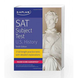 SAT Subject Test U.S. History (Kaplan Test Prep) by POLLOCK Book-9781506209258