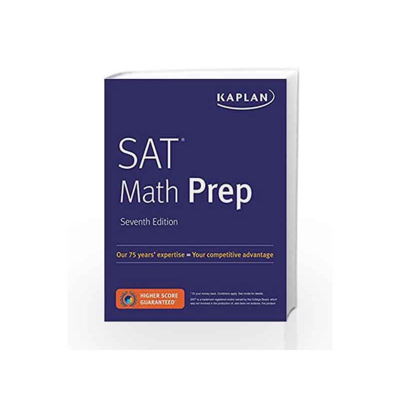 SAT Math Prep (Kaplan Test Prep) by -Buy Online SAT Math Prep (Kaplan Test  Prep) Book at Best Price in India:Madrasshoppe com