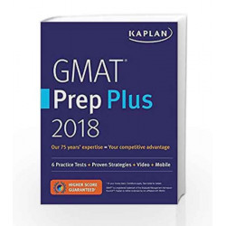 GMAT Prep Plus 2018: Practice Tests + Proven Strategies + Online + Video + Mobile by PETRUZELLA Book-9781506234427