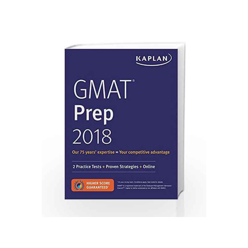 GMAT Prep 2018: 2 Practice Tests + Proven Strategies + Online by PETRUZELLA Book-9781506234434