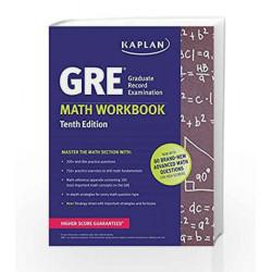 GRE Math Workbook (Kaplan Test Prep) by PETTERSON Book-9781625232991