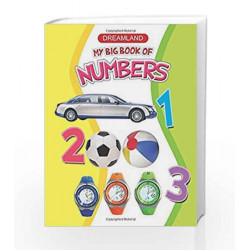 My Big Book of Numbers by Dreamland Publications Book-9781730109195