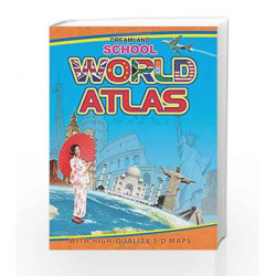 School World Atlas by Dreamland Publications Book-9781730123009