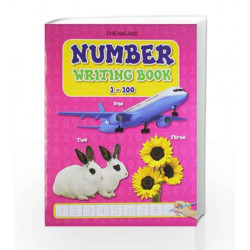 Number Writing Books 1 to 100 by Dreamland Publications Book-9781730128493