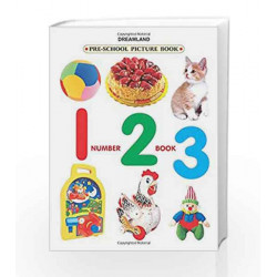 Number Book 123 (Pre-School Picture Books) by Dreamland Publications Book-9781730158483