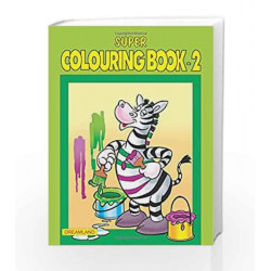 Super Colouring Book - Part 2 by Dreamland Publications Book-9781730175657