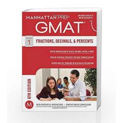 GMAT Fractions, Decimals, & Percents (Manhattan Prep GMAT Strategy Guides) by Manhattan Prep Book-9781941234020