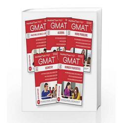GMAT Quantitative Strategy Guide Set (Manhattan Prep GMAT Strategy Guides) by Manhattan Prep Book-9781941234112