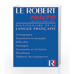 Le Robert Micro Posche by Le Robert Book-9782850364044