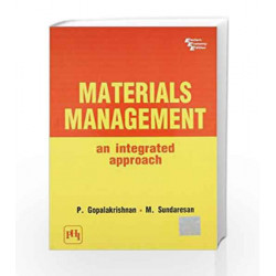 Materials Management: An Integrated Approach by Gopalakrishanan Book-9788120300279